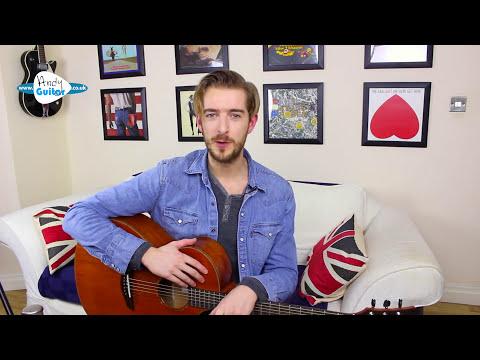 Falling Slowly - Acoustic Fingerstyle Guitar Lesson - Glen Hansard/ Once