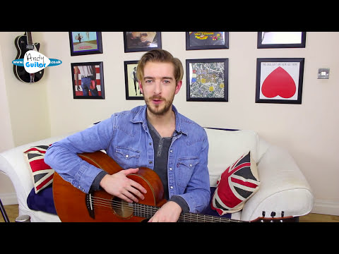 Falling Slowly - Acoustic Fingerstyle Guitar Lesson - Glen Hansard/ Once