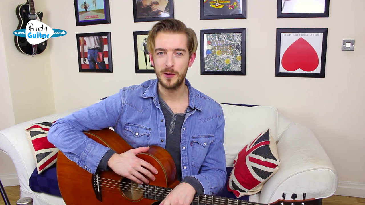 Falling Slowly Acoustic Fingerstyle Guitar Lesson Glen Hansard Once