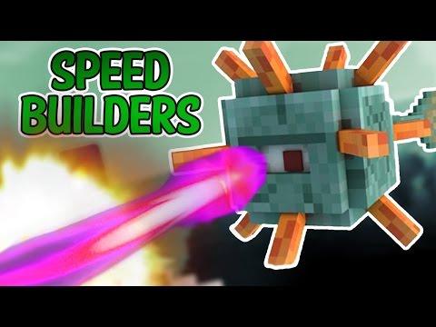 Minecraft:Speed Builders | Bercea si gardul | #6 w/Andy SI Seby