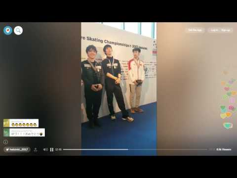 2017 Worlds Men Small Medal Ceremony & Interviews
