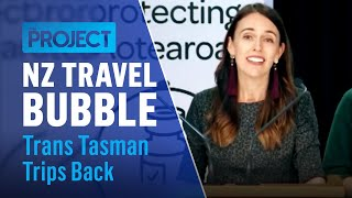 NZ Travel Bubble: Trans Tasman Trips Back | The Project