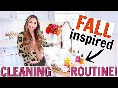 FALL CLEANING ROUTINE! CLEAN WITH ME FALL 2019! EVERYDAY CLEANING ROUTINE | Alexandra Beuter