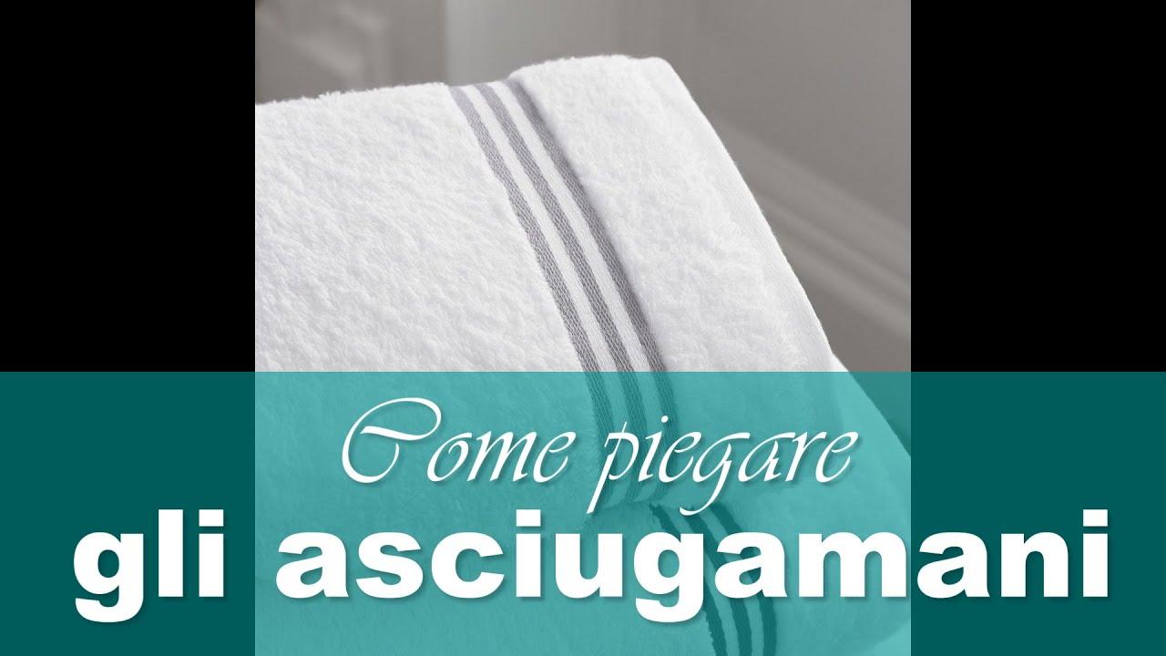 Come piegare e accoppiare gli asciugamani - YouTube