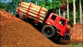 AWESOME RC TRUCK AT RESCUE ACTION on the Farm / Rc Toys &Tractor action