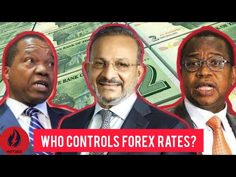 Who Determines The ZIM Forex Exchange Rates On The Black Market