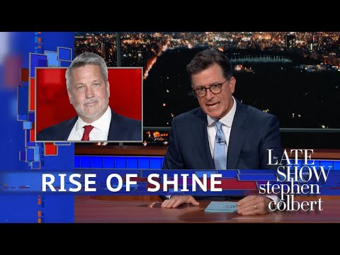 Stephen Colbert vs. White House Welcome A Disgraced Fox News Boss And His Racist Wife