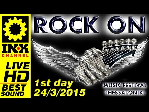 ROCK ON festival Thessaloniki 24-3-2015