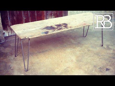 Fabriquer des Hairpin Legs - DIY  // ⓇⒷ