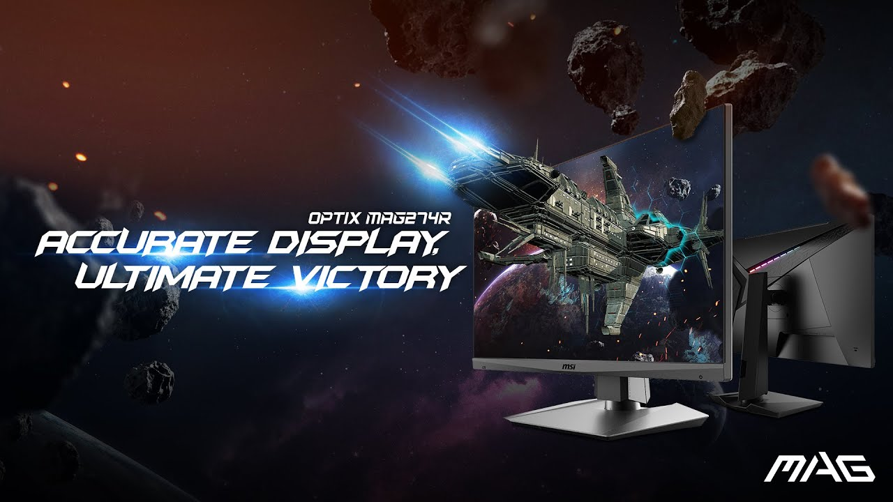 Optix MAG274R – Accurate Display. Ultimate Victory | eSports Gaming Monitor | MSI