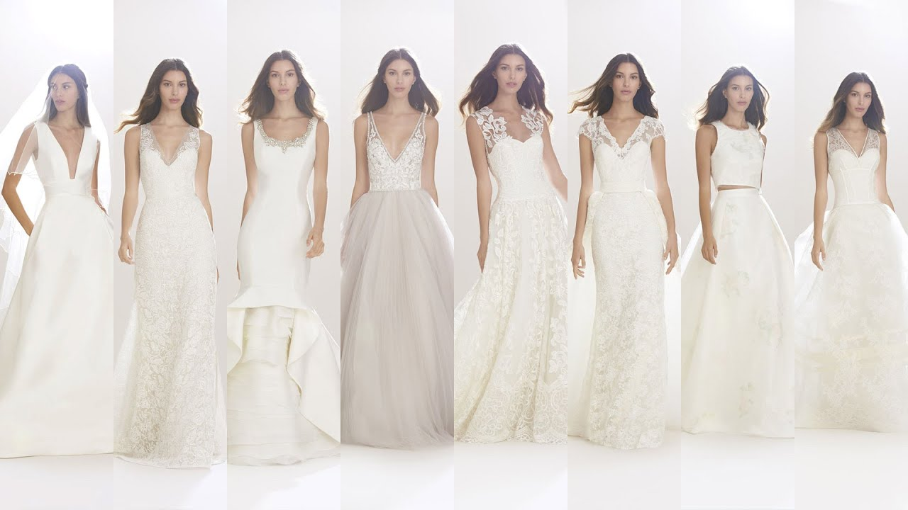 Показ коллекций свадебных платьев