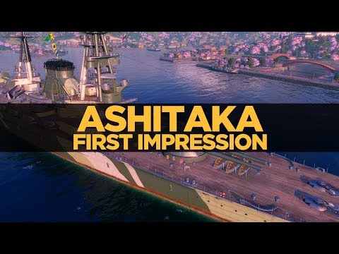 World of Warships - Ashitaka First Impression