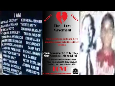 JUSTICE FOR ALL IN WASHINGTON D.C. ( THE LOVE MOVEMENT ) 1 DAY