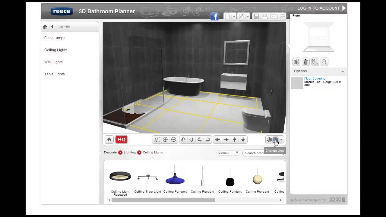 Best 3d Bathroom Planner
