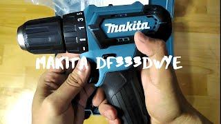 Cordless Mesin Bor Baterai Makita DF331DWYE - DF 331 DWYE