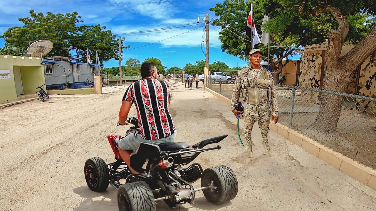 Perdido en la frontera de Haiti en mi cuatrimoto - Pedernales República Dominicana