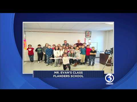 Channel 3's Eric Parker visits Flanders School