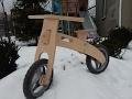 Balance bicycle assembly. DIY.