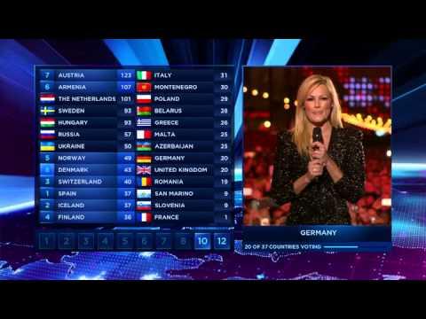 Helene Fischer at Eurovision 2014