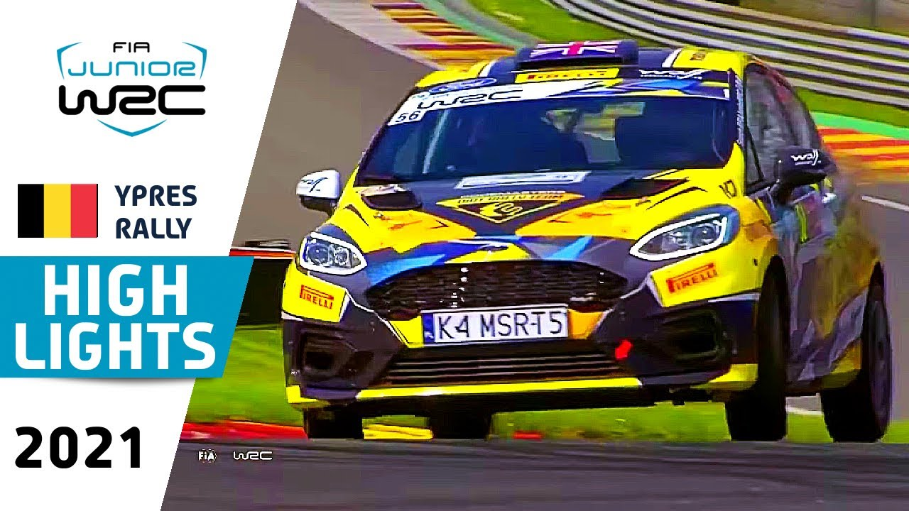 Junior WRC HIGHLIGHTS Day 3 : Renties Ypres Rally Belgium 2021 : Junior WRC Highlights and Results
