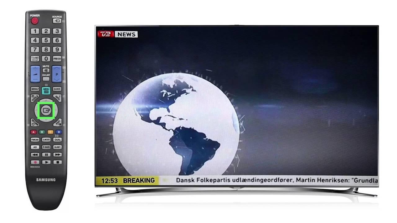 samsung tv manual på dansk