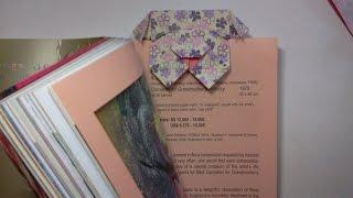 Origami Dog (origami Bookmark)
