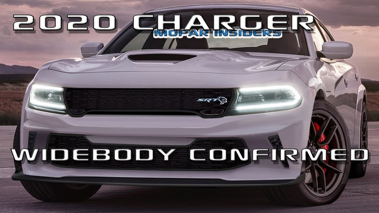 Scoop 2020 Dodge Charger Will Get Widebody With Two Models Mopar