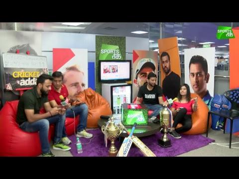 IPL 2018 #CricketADDA | Virat's Banglore VS Gambhir's Delhi | Sports tak