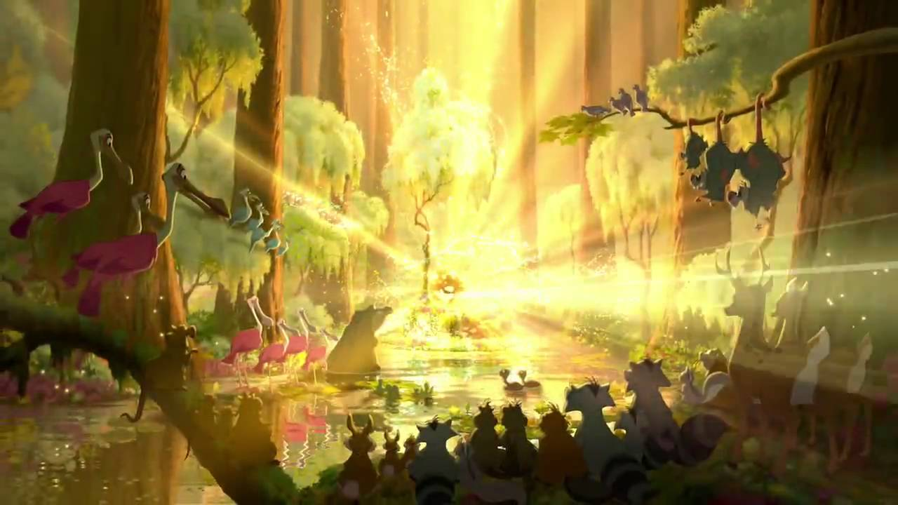 The Princess and the Frog:  Japanese Trailer