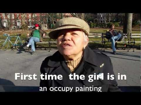 Occupy Wall Street artist Evelyn Tararico speaks on muses, her soul, and Zuccotti Pk  Tequila Minsky