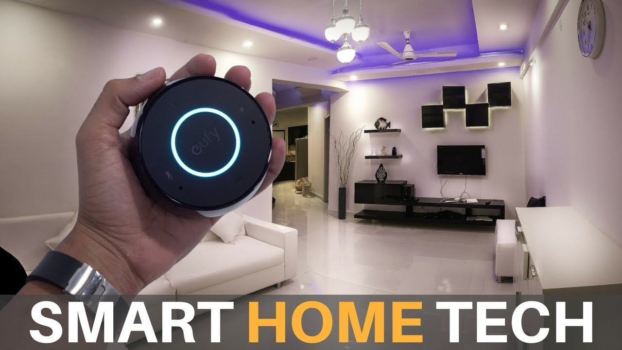 the coolest new smart home tech youtube. Black Bedroom Furniture Sets. Home Design Ideas