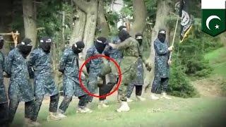 Видео тренировки бойцов ИГИЛ: террористы бьют друг друга в промежность(Чтобы присоединиться к ИГИЛ, помимо отсутствия мозгов, нужны железные... ну вы поняли. Посмотрите, какие..., 2015-12-03T09:07:48.000Z)