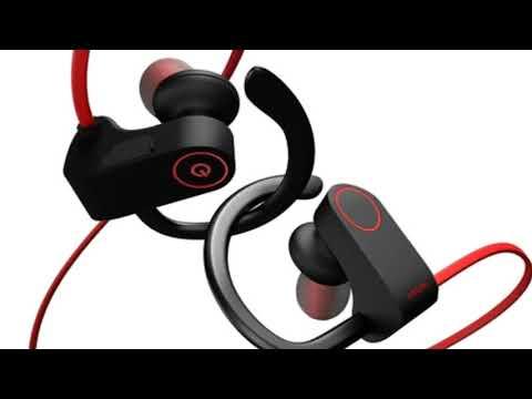 2ea563523ad Otium Best Wireless Sports Earphones w/ Mic IPX7 Waterproof - YouTube
