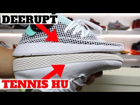 adidas DEERUPT vs PHARRELL TENNIS HU Comparison!