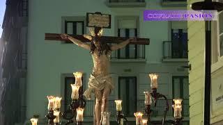 Stmo. Cristo del Perdón (Chiclana) por San Agustín y San Francisco (Via Crucis Diocesano Cádiz 2018)