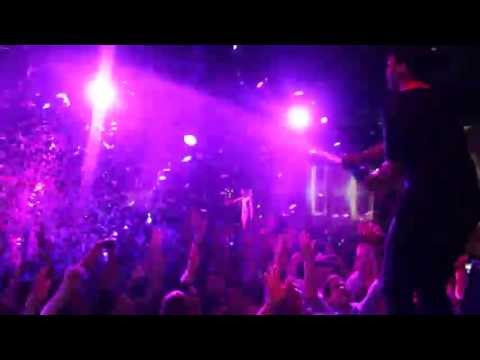 R3hab Champagne Shower at Opium