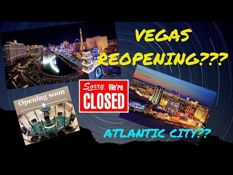 When Will Casino's RE- OPEN??? POKER VLOG Updates (2020)