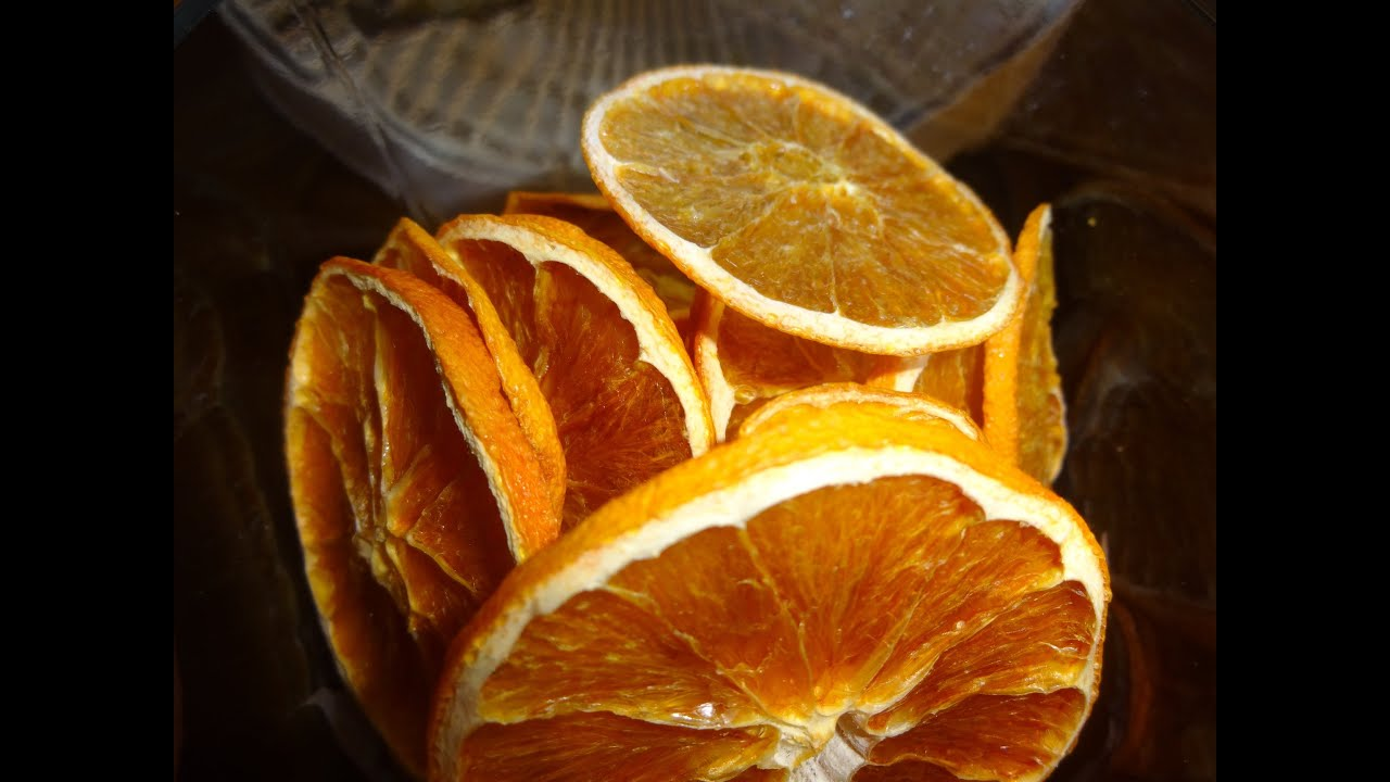 How to Dehydrate Oranges recommend