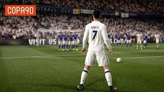 Free Kicks From FIFA 98 to 18