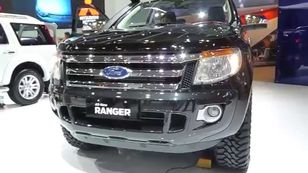 Iims 2014 all new ford ranger 2015 exterior interior view youtube