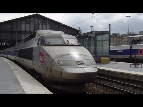 (FR) Paris Trains - Gare Du Nord, Paris, 11th June 2013