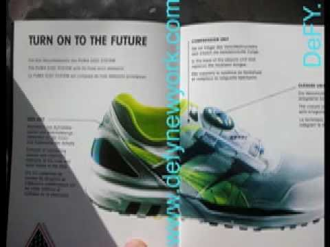 Disc 1991 Original Youtube Puma Running Shoe A354jSRcLq