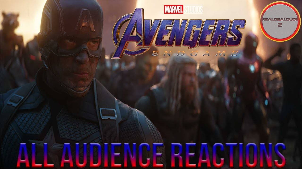 Download Avengers: Endgame - EPIC Audience Reactions (in HD)