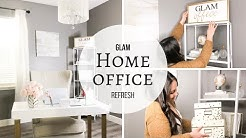 Glam Home Office | 2019 Refresh