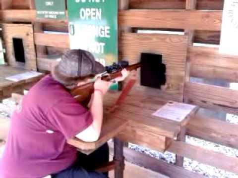 Firing my Browning .458 Win. Magnum