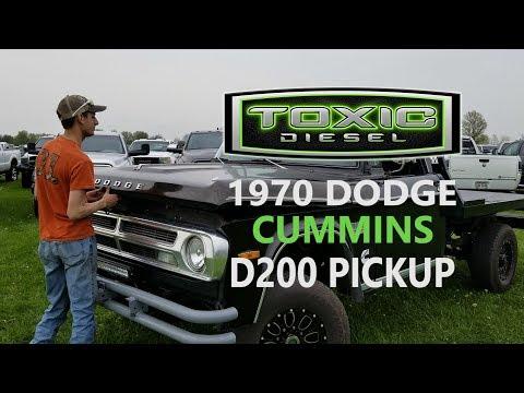 1970 Dodge D200 Cummins Conversion