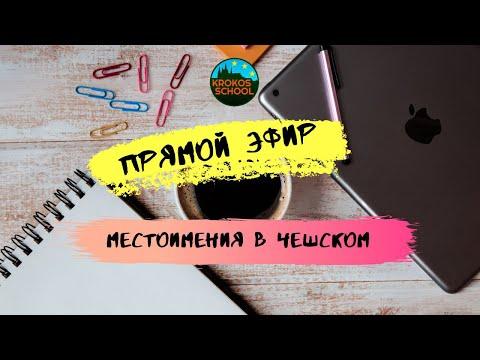 Местоимения в чешском языке   Прямой эфир 16.11.2019