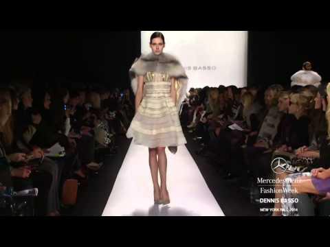 """""""DENNIS BASSO"""" New York Fashion Week Fall Winter 2014 2015 by Fashion Channel"""