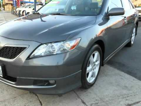 2008 Toyota Camry Sports Edition Aux Input Alloy Wheels