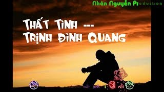 Karaoke HD Thất Tình - Trịnh Đình Quang Beat Gốc chuẩn - Hạ Tone